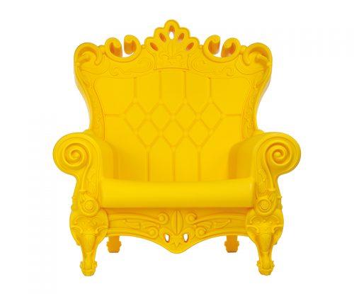 fauteuil-couleur-jaune-mat-little-queen-of-love-slide-design